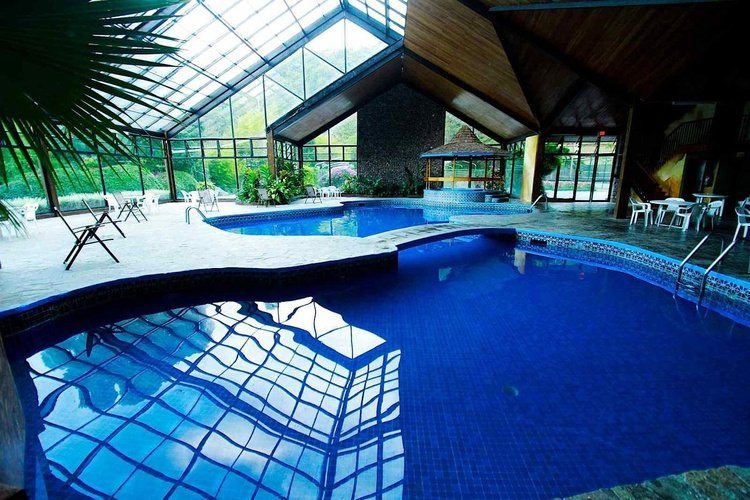 Indoor swimming pool bambito by faranda boutique hotel chiriqui